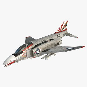 F4 BN Phantom II Sundowners VF-111 3D model