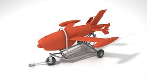 3D Ryan Firebee Q-2A KDA-1