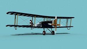 3D Airco DH-4 V05 Flying Circus model