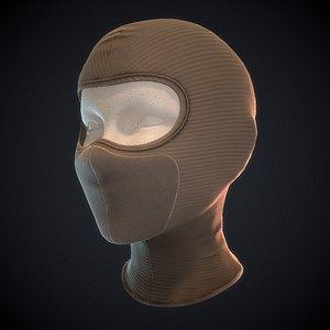 3D model pbr ready head