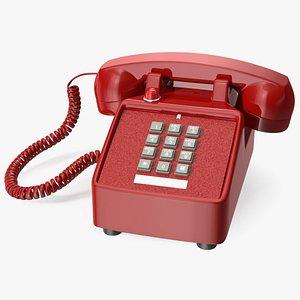 3D Bittel Vintage Retro Telephone
