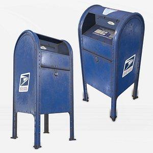 mailbox pbr clean 3D
