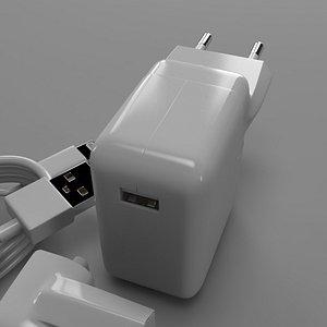 3D adaptor iphone phone model