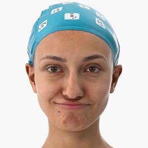 Joy Human Head Chin Raiser AU17 Clean Scan(1) 3D model