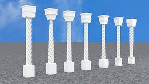 3D model box cylinder using taper