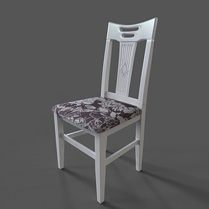 3D chair yulia ts art model