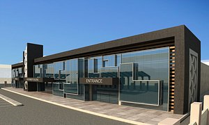 building center mall shopping model