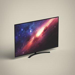 4K TV 3D model