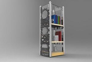bookshelf book islamic model