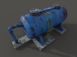oil tank model