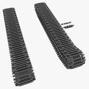 E-100 Tracks 3D model
