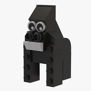 Lego Gorilla Animal model