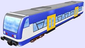 stadler regio shuttle 650 3D model