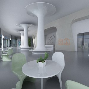 Lounge Hall 3D