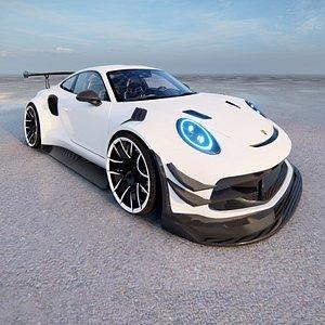 3D Porsche 911 GT3 Cup 2021 model
