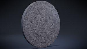 Aztec Calendar 3D