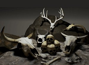 Necros Bone Box 3D model
