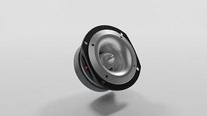 3D tweeter speaker speak