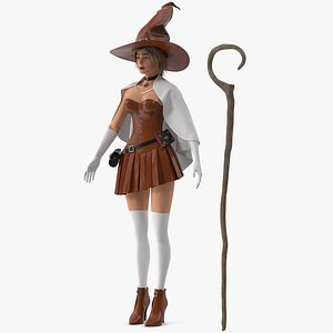 Witch 3 3D model