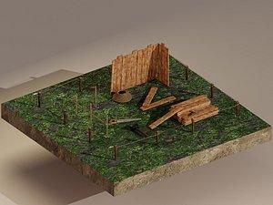 Building Foundation 3D
