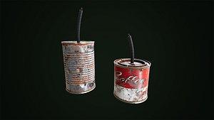 Tin Can Grenade model