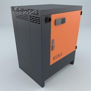 3D kr c4 robot controller model