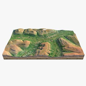 Alaska Valley Hills 3D