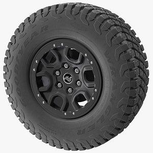 3D Goodyear Wrangler Off Road Tire model