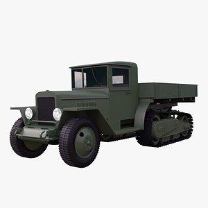 ZiS -42 3D model