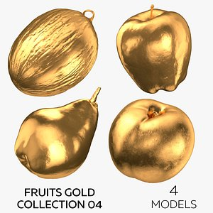 3D Fruits Gold Collection 04 - 4