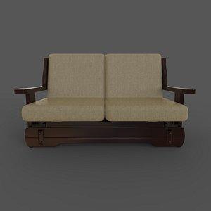 3D model sofa Corsica