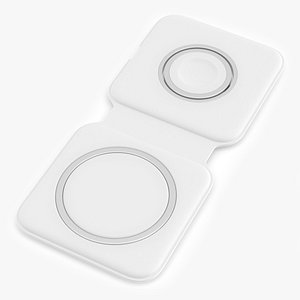Apple MagSafe Duo Wireless Charger 3D model