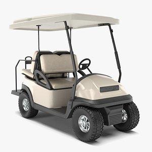 golf cart 3D