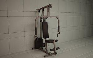 gymsystem machine 3D model