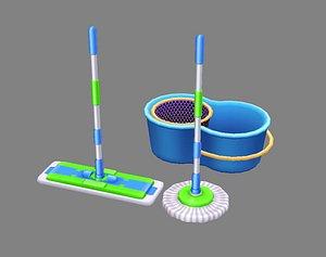 3D model mop tool