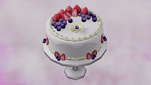 fruit cake 3D