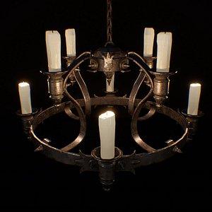 light candle 3D model