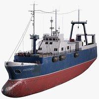 Fishing Trawler Vessel(1)