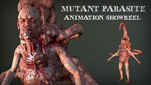 3D model Mutant Parasite