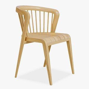 Classic Chair Furniture 3D model