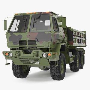 Oshkosh FMTV 10 Ton Dump Truck Camo 3D model