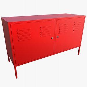Cabinet With PBR 4K 8K 3D model