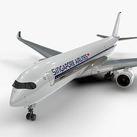 Airbus A350-900 SINGAPORE Airlines L1117