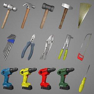 3D model pack hand tools