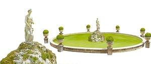 3D Rome Fountain
