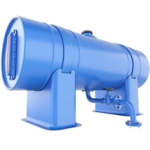 tank gasoline pressure 3D model