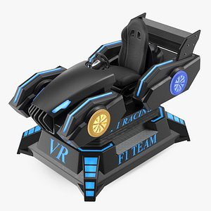 3D VR Racing Game ON