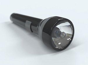 torch flashlight 3D model
