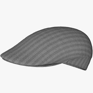 Flat Hat Cap model