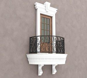 3D Balcony Windows 2